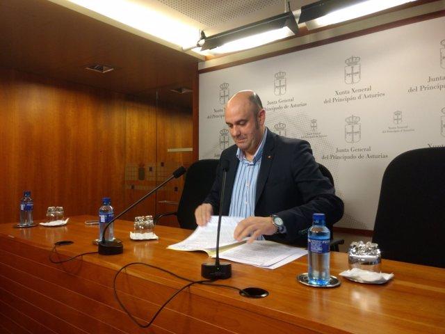 Pedro Leal, parlamentario de Foro Asturias, en una imagen de archivo