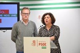 Fuensanta Lima y José Sánchez. PSOE