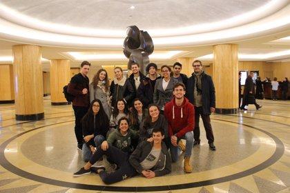 Premian a 14 estudiantes del Colegio Alemán de Tenerife en un encuentro internacional en la ONU