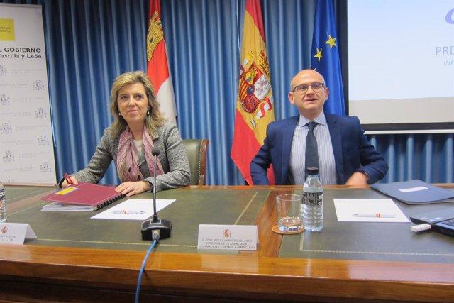 Salgueiro junto al director de AICA en Valladolid. 19/03/2018