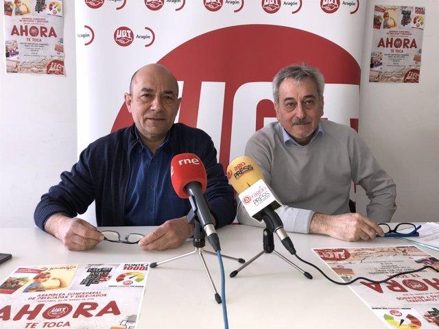 Alastuey y Espartero han presentado la Asamblea Anual Confederal de UGT