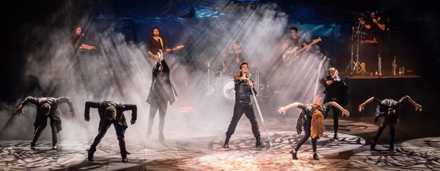 Escena del musical 'La Fuerza del Destino'. 19-3-2018