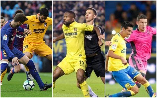 Título, Liga Europa y descenso, focos de la liga