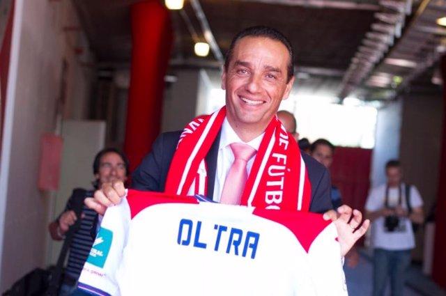 El nuevo técnico del Granada CF, José Luis Oltra