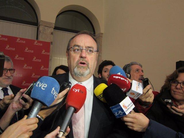 Fernando Rey, consejero de Educación de CyL.