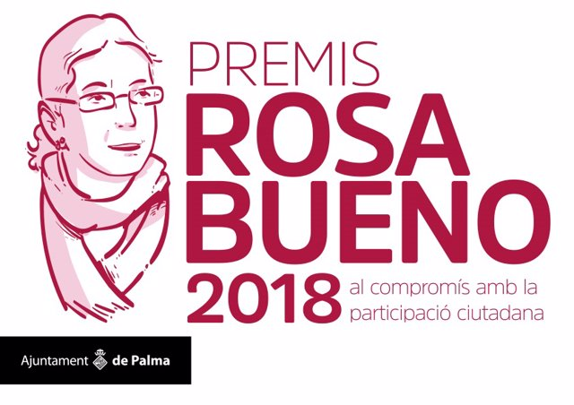 Cartel de los premis Rosa Bueno 2018
