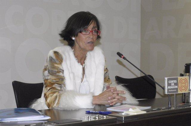 La portavoz de Educación del Grupo Parlamentario Popular, María José Ferrando.