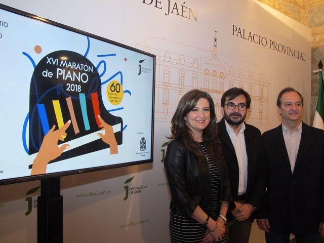 Presentación del XVI Maratón de Piano.