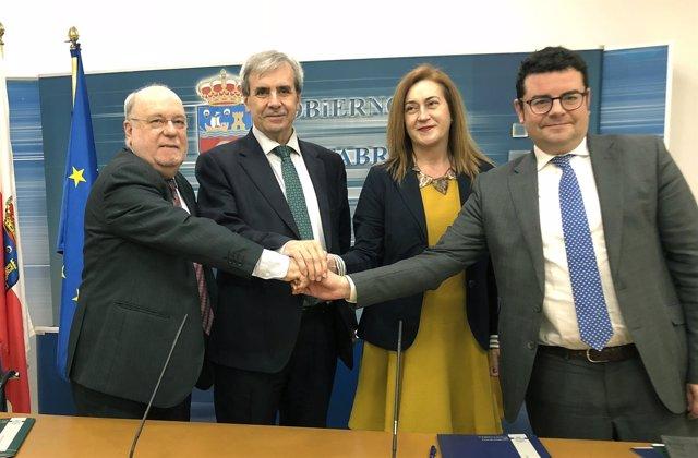 Acuerdo sobre financiación autonómica de Canhtabria y La Rioja