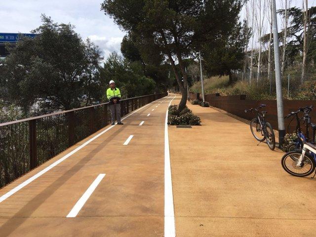 Carril bici Barcelona-Esplugues de Llobregat