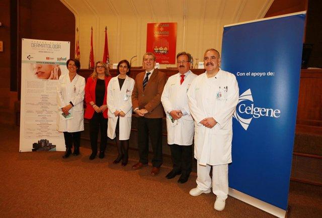 Celaya ha inaugurado hoy la Semana de la Dermatología en Hospital Miguel Servet