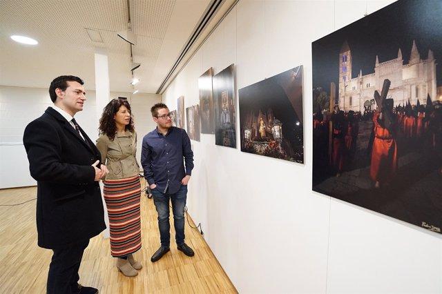 Exposición sobre las semanas santas de Valladolid, Medina y Rioseco. 19-3-2018