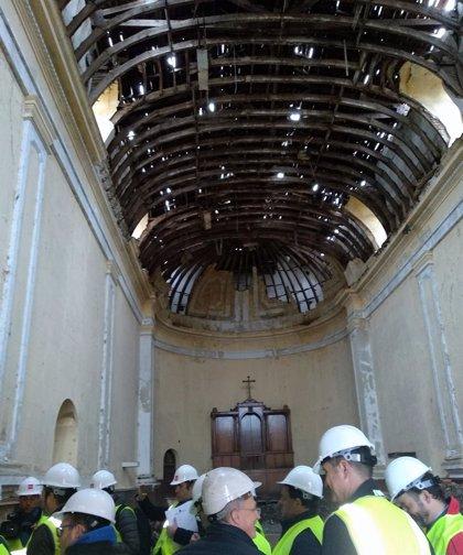 Arrancan las obras para reconvertir una parte de la Sagrada Familia de Pinto en un moderno centro multifuncional