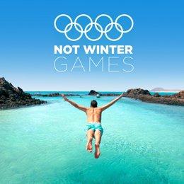 Canarias Crea Los Not Winter Games, Los Juegos De No Invierno
