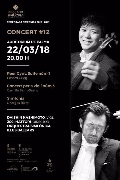 El romanticismo de Edvard Grieg, Camille Saint-Saëns y Georges Bizet protagonizan el duodécimo concierto de la OSIB