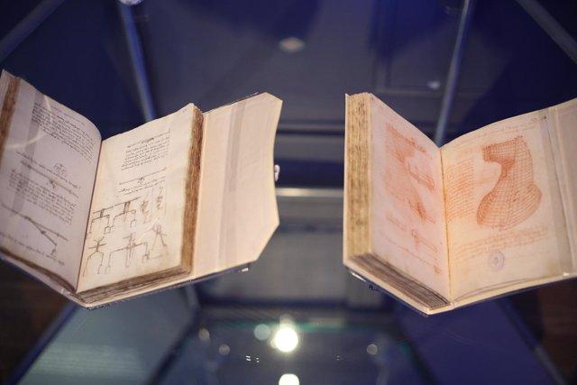 Imágenes de la Exposición Cosmos en la Biblioteca Nacional