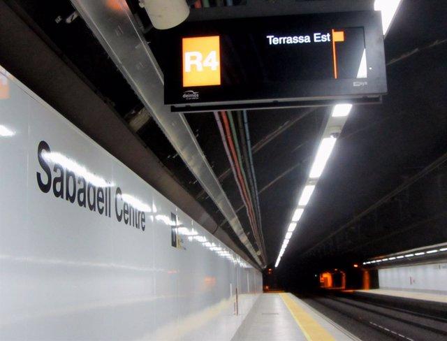 Estación de Renfe de Sabadell Centre