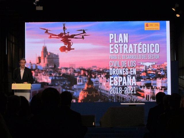 Fomento presenta el Plan Estratégico para el desarrollo de drones