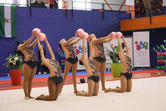 Los dos primeros encuentros de gimnasia rítmica, en Viator y Huércal-Overa.