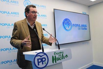 """El PP critica la ausencia del alcalde en la concentración en la que """"Huelva clamó la prisión permanente"""""""