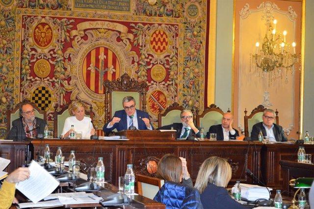 Pleno del Ayuntamiento de Lleida (Noviembre 2016)