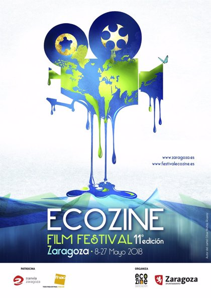 """""""Fundido a azul"""" es el título del cartel de Ecozine 2018"""