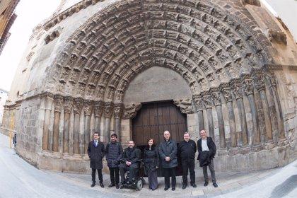 La restauración de la Puerta del Juicio de Tudela comenzará entre mayo y junio y se extenderá hasta finales de año