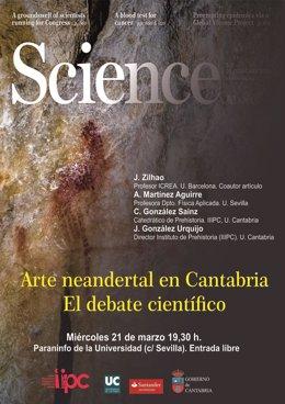 """Nota Uc """"Arte Neandertal En Cantabria. Debate Científico"""", Este Miércoles En La"""