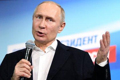 Putin subraya que Rusia está dispuesta a mantener un diálogo constructivo con todos los países