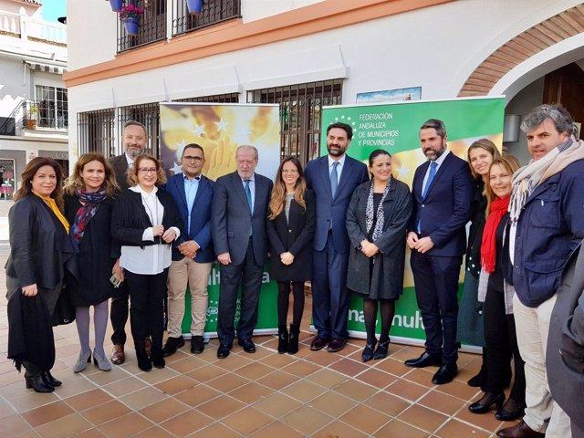 Nota De Prensa Y Foto Presentación Red Municipios Contra Estacionalidad Turístic