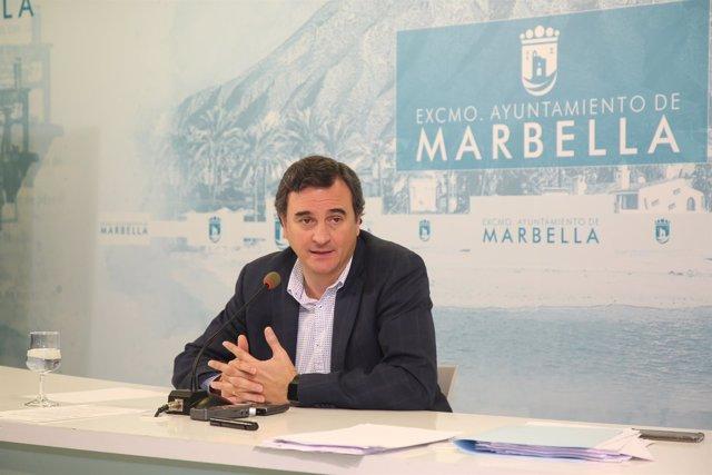 Félix Romero, portavoz municipal Marbella