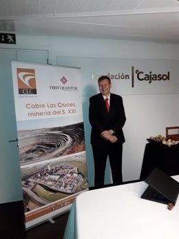 El nuevo CEO de Cobre Las cruces, Iain Anderson