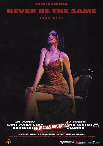 Camila Cabello agota entradas para sus conciertos en Barcelona y Madrid