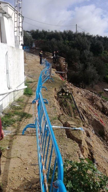 El Ayuntamiento de Lucena actuará para la reposición de un colector dañado por las lluvias