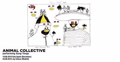 Animal Collective revivirán Sung Tongs, el disco que cambió su carrera, en Barcelona y Madrid
