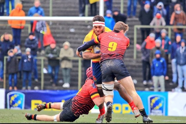 España Bélgica selección española rugby