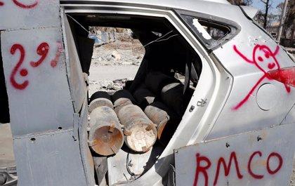 Las minas y artefactos sin explotar dejan 130 muertos desde la liberación de Raqqa