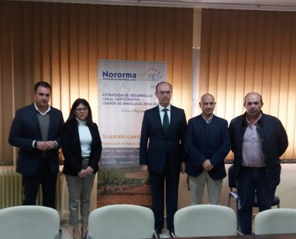 Unicaja Banco renueva su apoyo al Grupo de Desarrollo Rural Nororma para financiar actividad promocional de la comarca