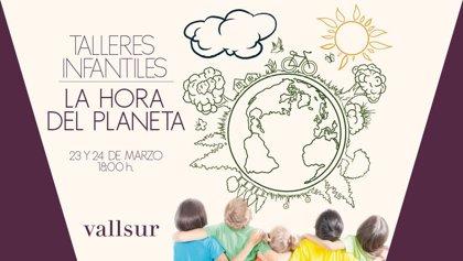 Vallsur se suma a 'La Hora del Planeta': el mayor movimiento global contra el cambio climático