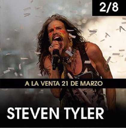 Steven Tyler, nueva confirmación del Starlite Marbella