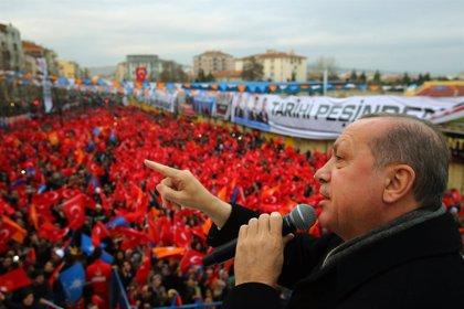 Erdogan dice que Turquía continuará su ofensiva contra las YPG en otras zonas de la frontera con Siria