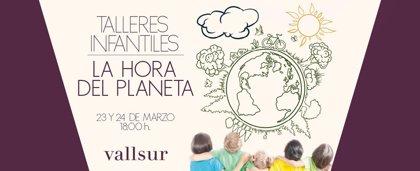 Vallsur se sumará el sábado a la 'Hora del Planeta' y programa talleres sobre el Medio Ambiente para los más pequeños