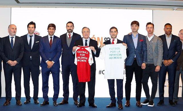 Presentación del Corazón Classic Match Real Madrid-Arsenal de 2018