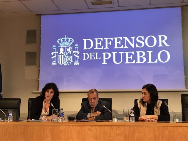 El defensor del Pueblo Francisco Marugán