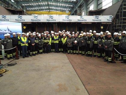 La construcción de nuevas fragatas para la Armada ocupará a 7.000 trabajadores en 10 años