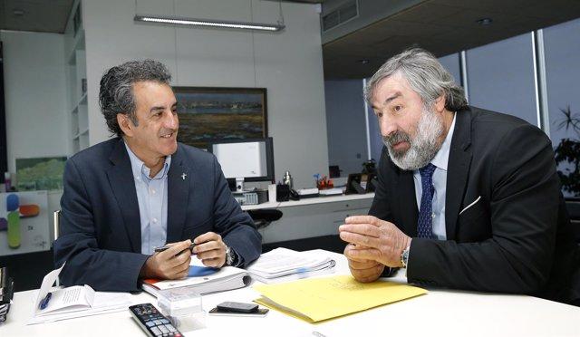 Francisco Martín con Fernando Fernández