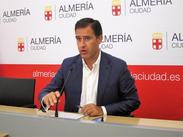 El concejal de Urbansimo del Ayuntamiento de Almería, Miguel Ángel Castellón