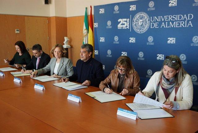 La APA y la UAL firman un acuerdo de investigación