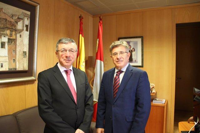 Encuentro entre los gerentes de CyL y Cantabria. A9-03-2018