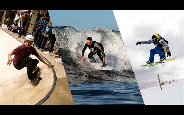 Dani García gana la única prueba europea que combina surf, skate y snowboard
